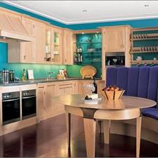 Καθιστικό Deco για μοντέρνες κουζίνες.