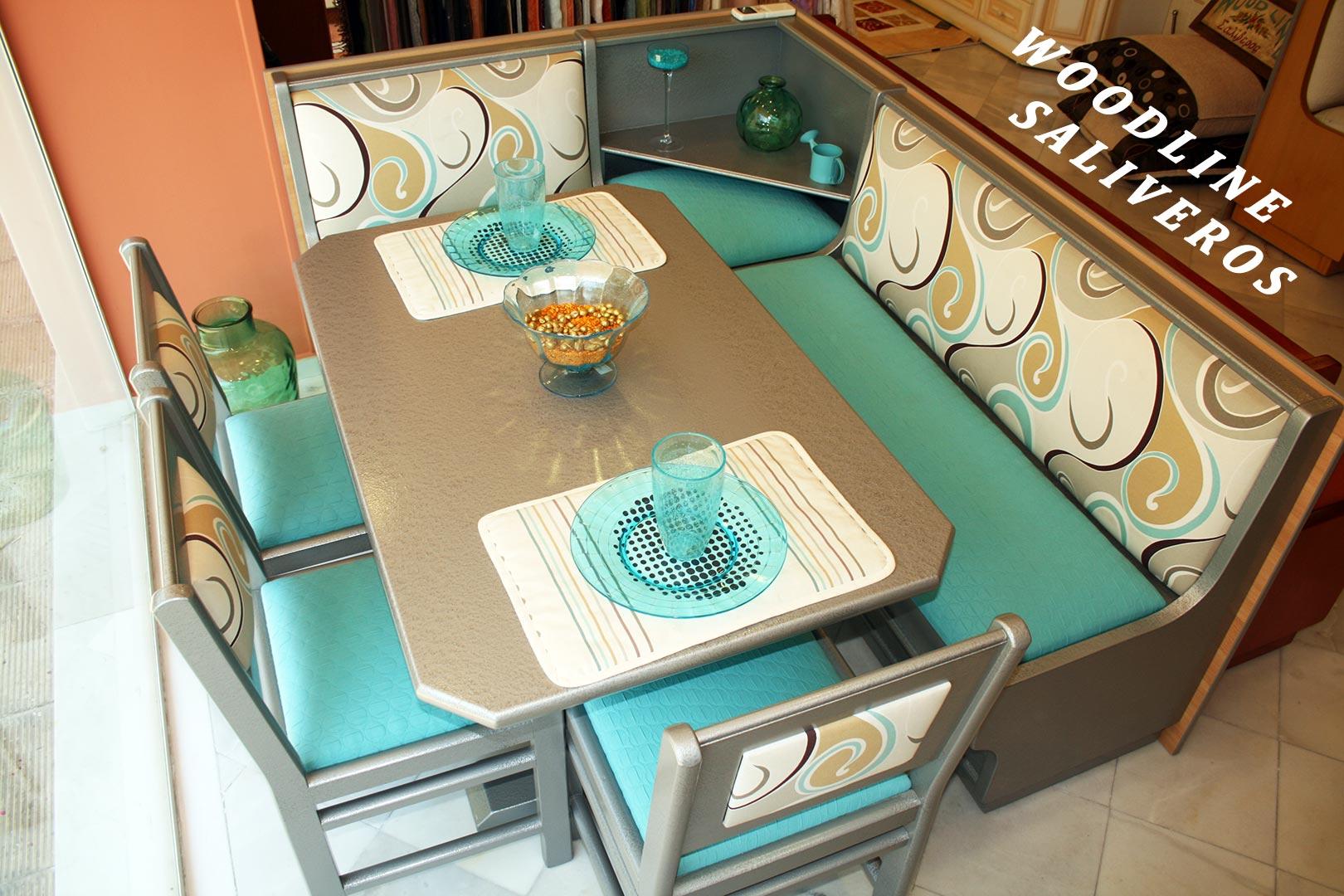 6 Καθιστικό κουζίνας Colors σε υπέροχα χρώματα!