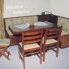 Καθιστικό Latino με ιταλικά κλασσικά υφάσματα.