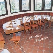 Πολυγωνικό καθιστικό κουζίνας για ιδιόμορφους χώρους.